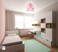 POKÓJ DZIEWCZYNKI - Średni pokój dziecka dla dziewczynki dla malucha, styl nowoczesny - zdjęcie od homely house