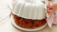 The classic monkey bread recipe, oozing with warm caramel and cinnamon. Monkey bread is irresistible! Grands Monkey Bread, Bread Recipes, Baking Recipes, Potato Recipes, Serving Platters, Just Desserts, Holiday Recipes, Breakfast Club, Breakfast Casserole