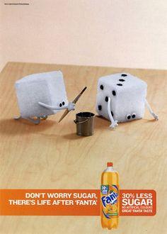 funny #print #adverts by Sugar free fanta