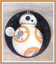 BB-8 #StarWars Cake. Delicious and delivered.