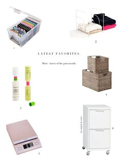 The products a professional organizer swears by to keep herself and her clients organized.