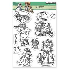 Ahoy! Clear Stamps by Mo Manning from Penny Black