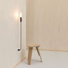 Perfect for renters, the Wald Hi-Lo Plug-In Lamp by @feltmark is now available in the @dwell_store. It can be easily moved from room to room and takes up far less space than a floor lamp.