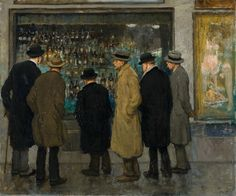 Window Shopping, Francis Luis Mora, 1934
