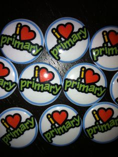 lds primary - I love primary magnets