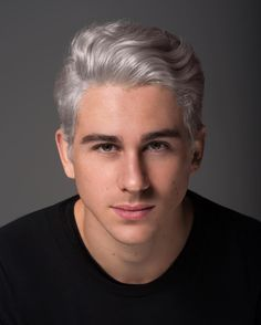 Another amazing head shot by @shotography 😘 #boy #whitehair #headshot