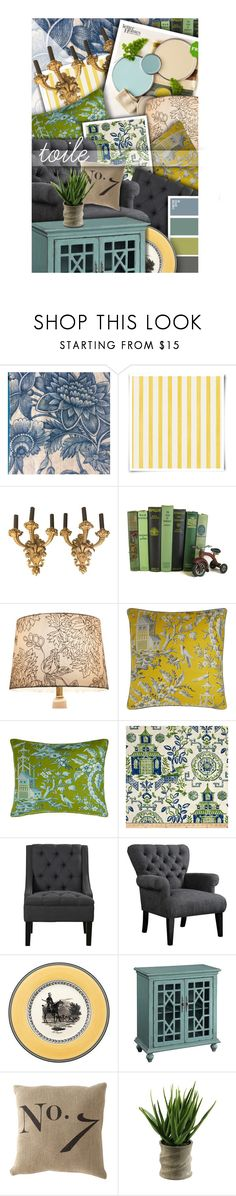 """""""mood board//toile pattern"""" by lavida ❤ liked on Polyvore featuring interior, interiors, interior design, home, home decor, interior decorating, Christian Lacroix, Better Homes and Gardens, Threshold and Legacy"""