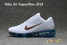 946e9383c7f2 Nike Air Vapor MAX 2018 KPU Running Men White Brown Blue 40-47