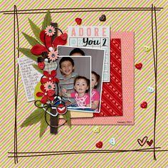 Adore You 2 - Scrapbook.com