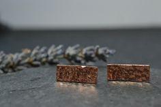 Elegant copper earrings £12.00