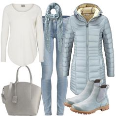 Herbst-Outfits: Iceblue bei FrauenOutfits.de