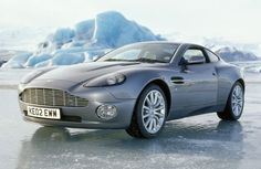 """James Bond's Aston Martin V12 Vanquish  from """"Die Another Day""""   If I ever reach the situation where I could afford to run AND maintain a Vanquish, be assured I will buy one."""