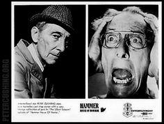 Peter Cushing in 'Hammer House of Horror' tv series. Episode: 'Silent Scream' 1980 Dir: Gibson petercushing.org.uk