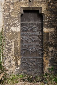 """""""St Thomas the Martyr Church 13th-century priest's door in the south wall is one of the oldest in Oxford, with original medieval metalwork."""" Photo by Robert Mealing."""