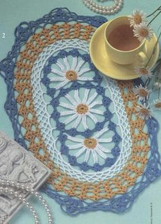 Page 1 of 2 * Daisy doily