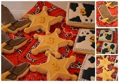 Love the toy cowboy cookies! Perfect for a cowboy or Toy Story birthday party