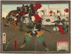 豊宣 Toyonobu  『新撰太閤記 小牧山対陣』