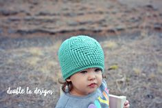 Ravelry: Embossed Heart Beanie pattern by Crochet by Jennifer