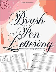 Brush Pen Lettering and Calligraphy Workbook: Workbook 8, 5x11 inches: Publishing, Carrizales: 9798664259995: Amazon.com: Books Cute Journals, Brush Pen, Calligraphy, Lettering, Amazon, Books, Libros, Riding Habit, Drawing Letters