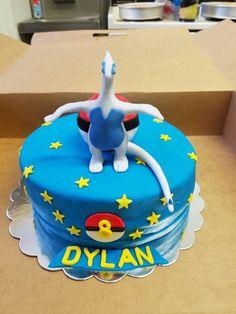 Lugia birthday cake Pokemon!