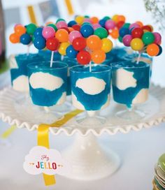 Hot Air Balloon party desserts