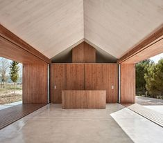 Located in Fontanars dels Alforins, Valencia, Spain, Cottage in the Vineyard is a retreat designed by Ramón Esteve Estudio in Modern Barn House, Modern Cottage, Modern House Design, Contemporary Barn, Contemporary Architecture, Interior Architecture, Residential Architecture, Interior Design, One Storey House