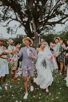 Our hearts are full from all the love and happiness in this joyous ceremony exit photo | Image bt Chelsea Abril Photography  #groom #bride #groominspiration #groomstyle #groomfashion #bride #bridalinspiration #Bridalstyle #bridalfashion #ceremony #weddingceremony #springwedding #wedding #weddinginspiration #weddingphoto #weddingphotography #weddingphotographer