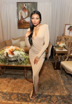 Taraji P. Henson attends the Backstage Creations Celebrity Retreat at The 47th NAACP Image Awards at Pasadena Civic Auditorium on February 5, 2016 in Pasadena, California