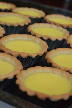 Egg Tarts (Direct Bake Method) 蛋撻 (直接烘烤法) | DimSumptuous