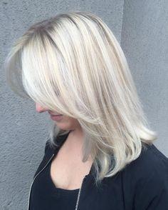 Long Ice Blonde Hair