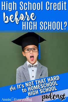 Do you want to give your middle schooler credit for their high school transcript? There is much to consider!