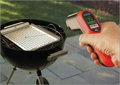Infrared Thermometer Gun. #bbq #tech #gadget  @Dominick Severance thought you might like to see this