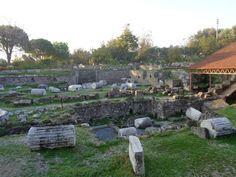 Grabmal des Mausolos in Halikarnassos im Jahr 2015