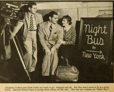 "Yes!""It Happened One Night""1934 was originally called ""Night Bus"""