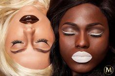 Η Karla Powell Make-up Artist μας υπενθυμίζει ότι η γοητεία βρίσκεται στις αντιθέσεις… #chocolatemakeup