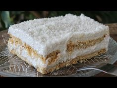You will not believe that this is a VEGAN Dessert - Jim Michailidis Cookbook Recipes, Cake Recipes, Dessert Recipes, Cooking Recipes, Vegan Sweets, Vegan Desserts, Easy Desserts, Greek Desserts, Greek Recipes