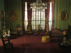 victorian drawing room