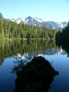 Mildred Lakes - Olympic National Park My very first hiking / camping trip.