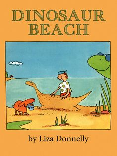 "Dinosaur Beach Frightened sunbathers flee from a crowded beach when someone yells ""Shark!""; but it's really a friendly elasmosaurus who then takes our boy hero to Dinosaur Beach. Includes an illustrated glossary listing various dinosaurs and their characteristics."