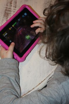 Kids holiday gift idea...Amazon Fire HD Kids Edition Tablet. AD