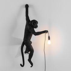 Seletti - Monkey Lamp - Hanging - Black