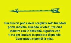 ... la freccia ...