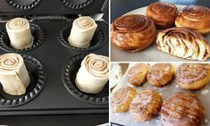 Home cook makes delicious cinnamon scrolls in the $29 Kmart pie maker Mini Pie Recipes, Waffle Maker Recipes, Sweet Recipes, Mini Desserts, Easy Desserts, Dessert Recipes, Breville Pie Maker, Cinnamon Scrolls, Cake Pop Maker