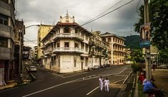 Old part of Panama.