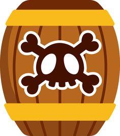 Piratas - Minus Pirate Activities, Easter Activities, Pirate Birthday, Pirate Theme, Images Pirates, Treasure Chest Craft, Pirate Quilt, Barbie Em Paris, Clipart