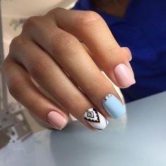 Fabulous Nails, Gorgeous Nails, Cute Nails, Pretty Nails, Pink Nails, Gel Nails, Disney Acrylic Nails, Indian Nails, Healthy Nails