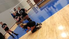 This drill is to enhance players with hitting skill using high ball contact to hit over block as Volleyball Skills, Volleyball Practice, Volleyball Training, Volleyball Workouts, Coaching Volleyball, Beach Volleyball, Softball, Volleyball Ideas, Best Player