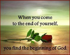 So true. I'm going to continue choosing GOD over Self for the rest of my life! :-)