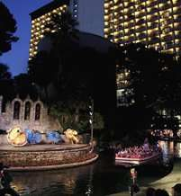 Hilton Palacio Del Rio, San Antonio - gorgeous hotel with direct access to River Walk... highly recommend