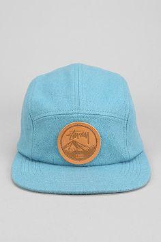 Stussy Flannel 5-Panel Hat